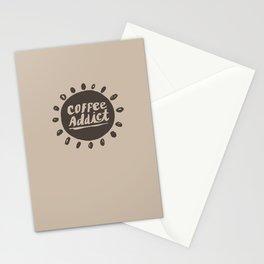 Coffee Addict :) Stationery Cards