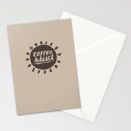 Coffee Addict :) Stationery Cards