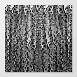 Tzuarovski Black Canvas Print