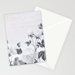 backyard garden Stationery Cards