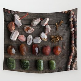 Tribal treasures Wall Tapestry