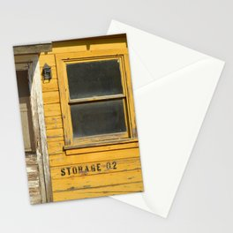 Old yellow house Stationery Cards