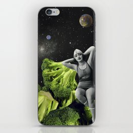 chilling in my unreality iPhone Skin