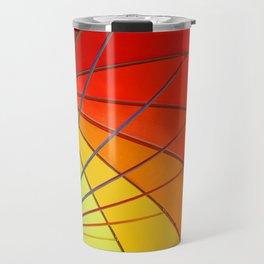 Rainbow colour Travel Mug