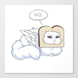 No Bread plz Canvas Print