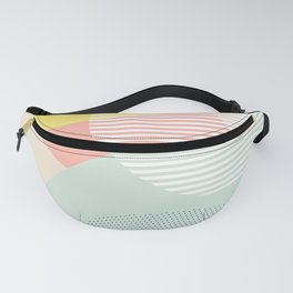 Lost In Shapes III #society6 #abstract Fanny Pack