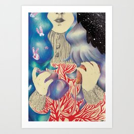 First Born Art Print