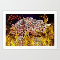 That Fire! Art Print