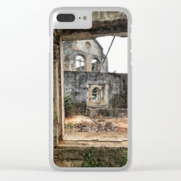 wreckage Clear iPhone Case