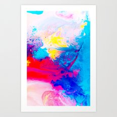Chroma Art Print
