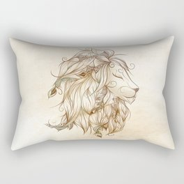 Poetic Lion Rectangular Pillow