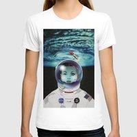 pilot T-shirts featuring Miss Space Pilot by SEVENTRAPS