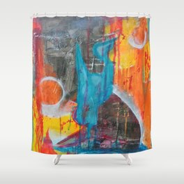Troubling Waters Shower Curtain