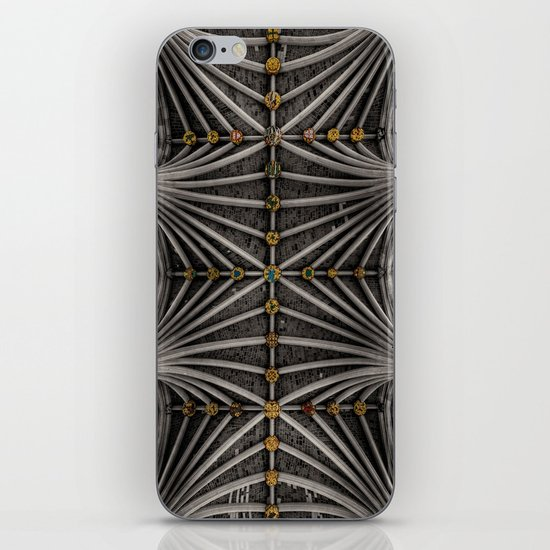 Ceiling bosses iPhone & iPod Skin