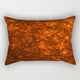 Molten Lava Rectangular Pillow