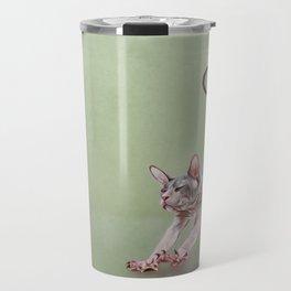 Sphynx kitten Travel Mug