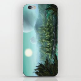 Alien Landscape iPhone Skin
