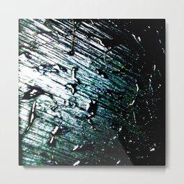 Peindre sur les chute de tranches d'abre Metal Print