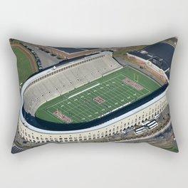 Harvard Stadium From Above Rectangular Pillow