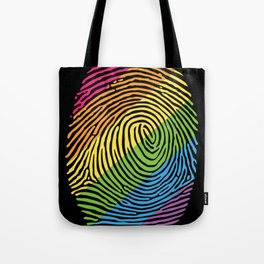 LGBTW rainbow Tote Bag