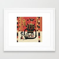 insect Framed Art Prints featuring Insect catcher by Exit Man
