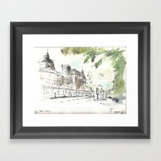 Retiro Station Framed Art Print
