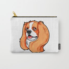 Cavalier King Charles Cocker Spaniel Dog Puppy Carry-All Pouch