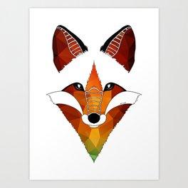 Wild Fox Art Print