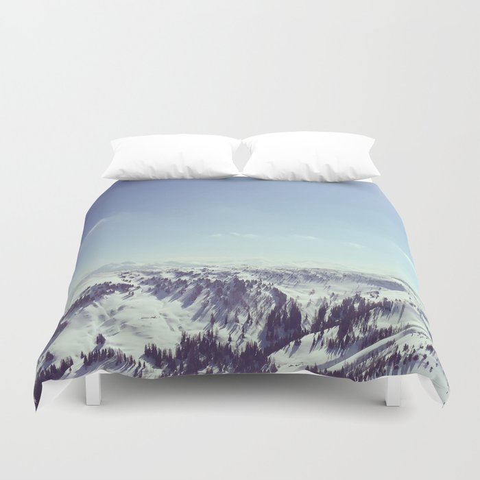 The alps Duvet Cover