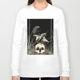 Alas negras, palabras negras ( Black wings, black words) Long Sleeve T-shirt