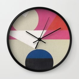 Frederick Hammersley 4 Wall Clock