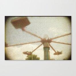 Skycar Canvas Print