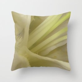 Beauty within Throw Pillow