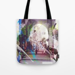 Arabian Collage #2 Tote Bag