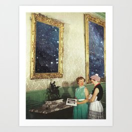 A Night at the Museum Art Print