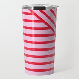 Geo stripe Travel Mug
