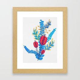 Australian Native Bouquet Framed Art Print