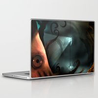 nemo Laptop & iPad Skins featuring Captain Nemo by IOSQ