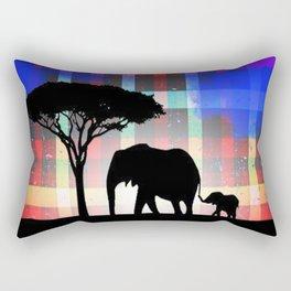 Rains in Africa Rectangular Pillow