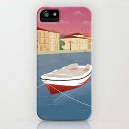 Lefkada, Western Waterfront iPhone Case