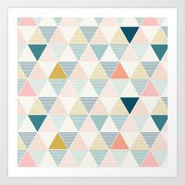 Modern Geometric Art Print