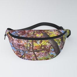 Blooming Plum Tree (5) Fanny Pack