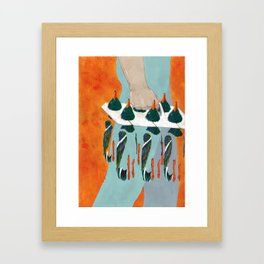 Water Pollution Framed Art Print