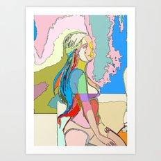 The Clique II, Quin Art Print