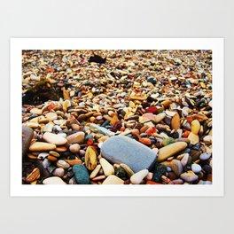 Pebbles Beach Art Print