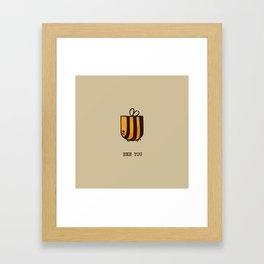 Bee You Framed Art Print