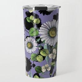 Daisy Daisy Floral II Travel Mug