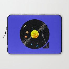 Solar System Vinyl Record Laptop Sleeve