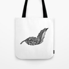 Feather 3 Tote Bag