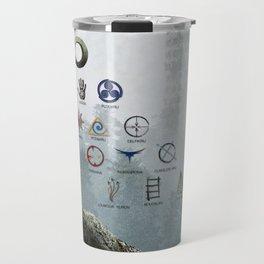 The 100 - 13 Clans Travel Mug